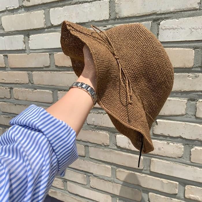 Gardening Raffia Hat