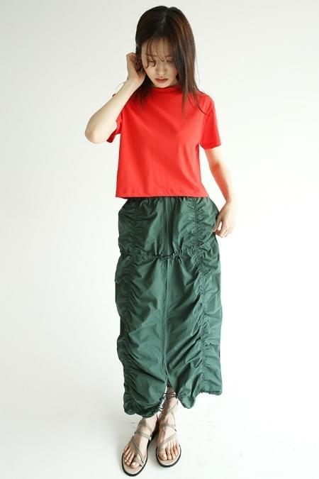 drape forming shirring skirts (3colors)