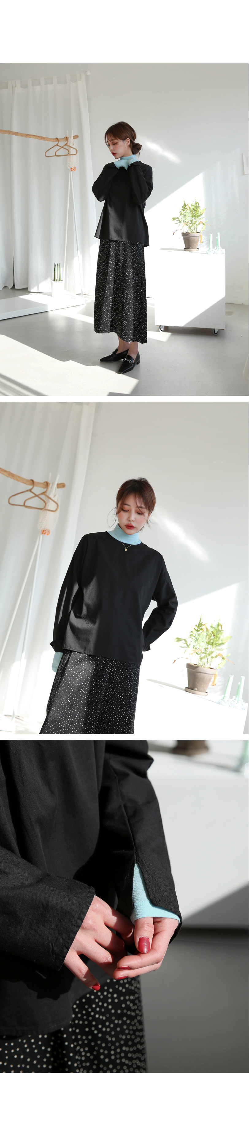 Double-sided blouse