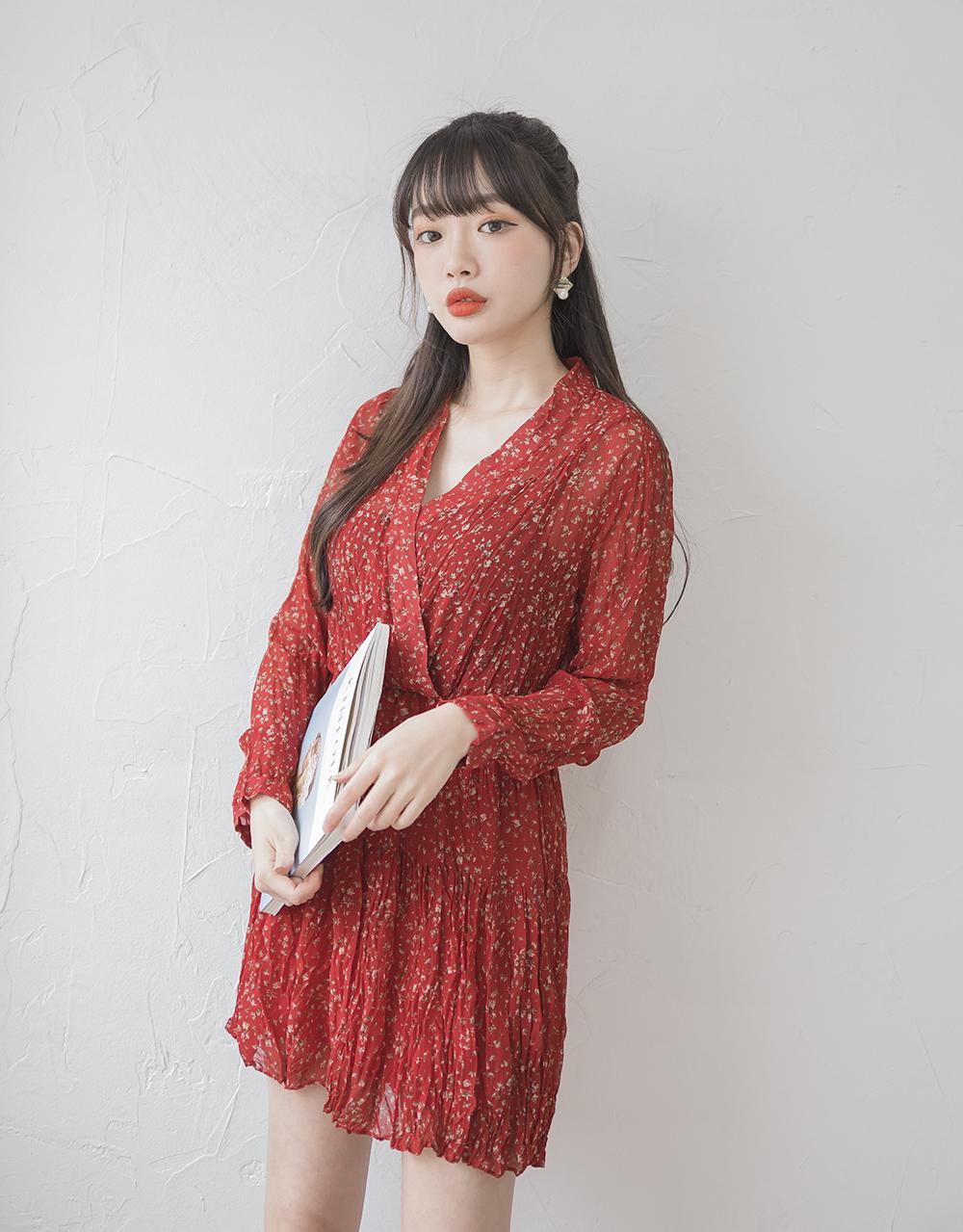 Ruby Flower Dress
