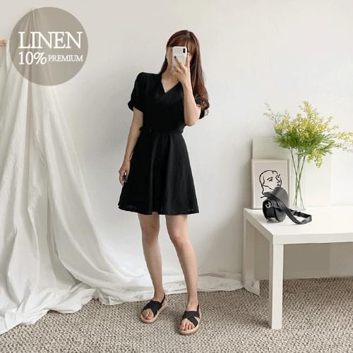 Fururab linen dress