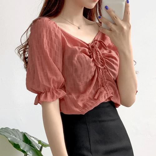 Holder open blouse