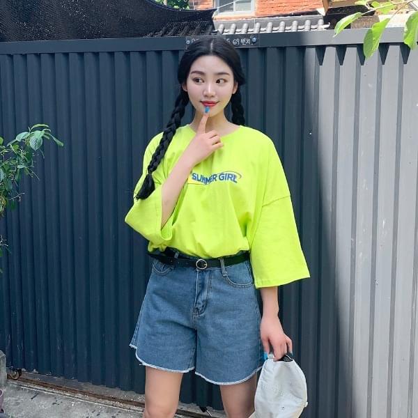Summer Girl Short Sleeve T