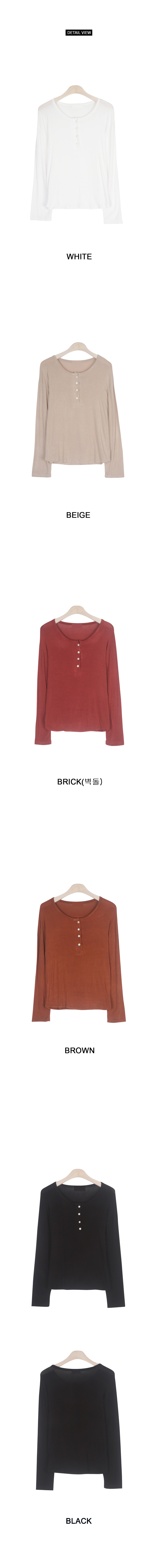 Milan Henry neck t-shirt