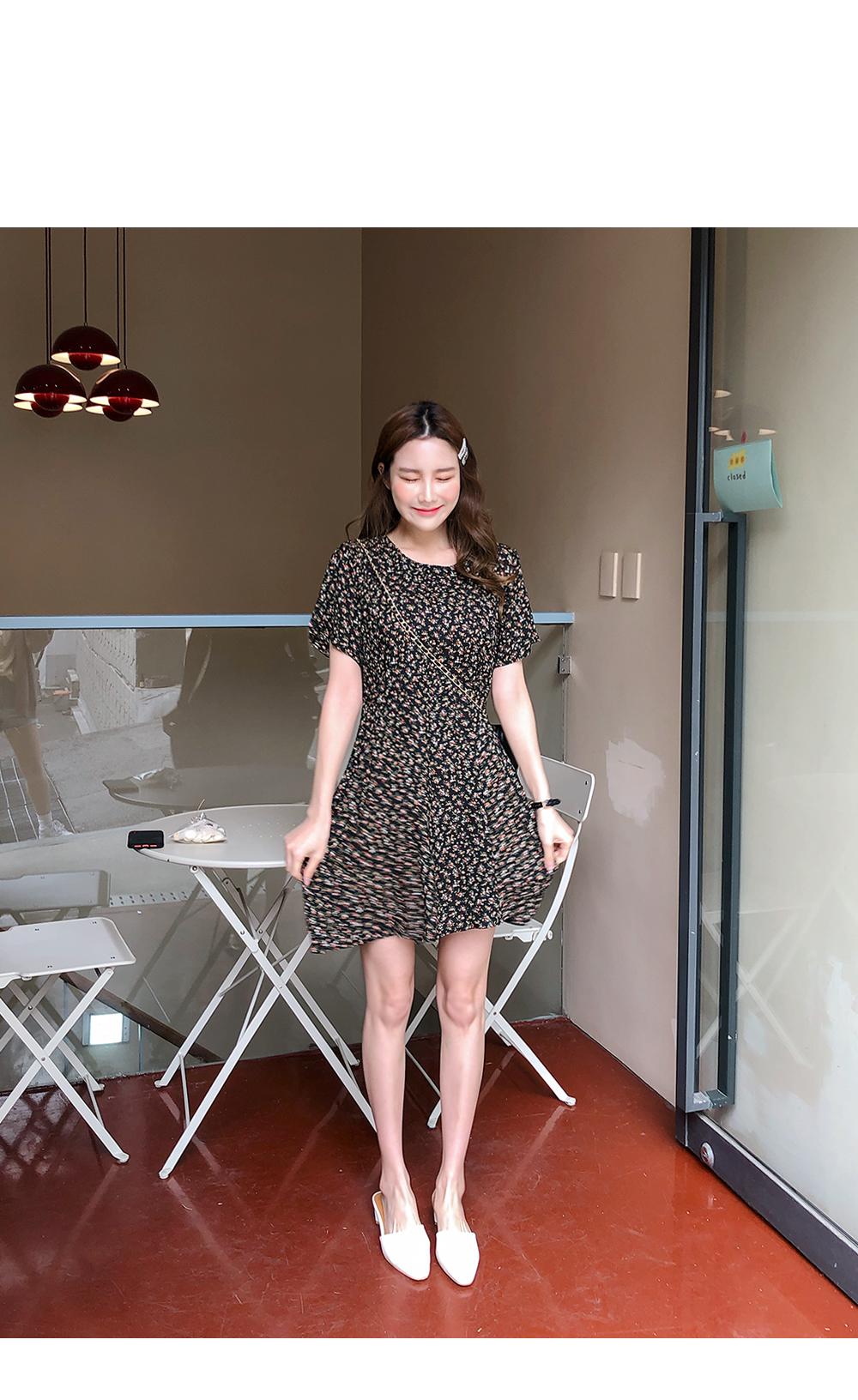 Mini mini flower dress