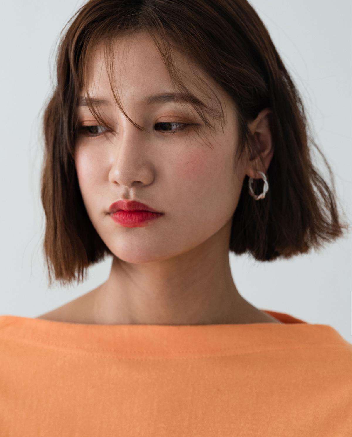 matt twist earring