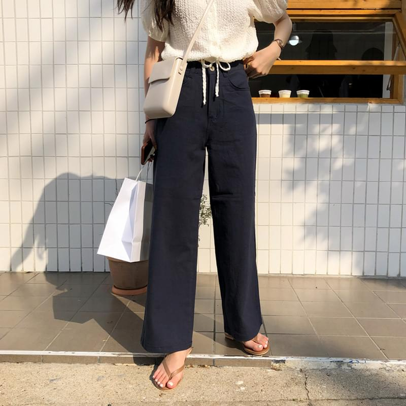 Tentia pants navy L パンツ