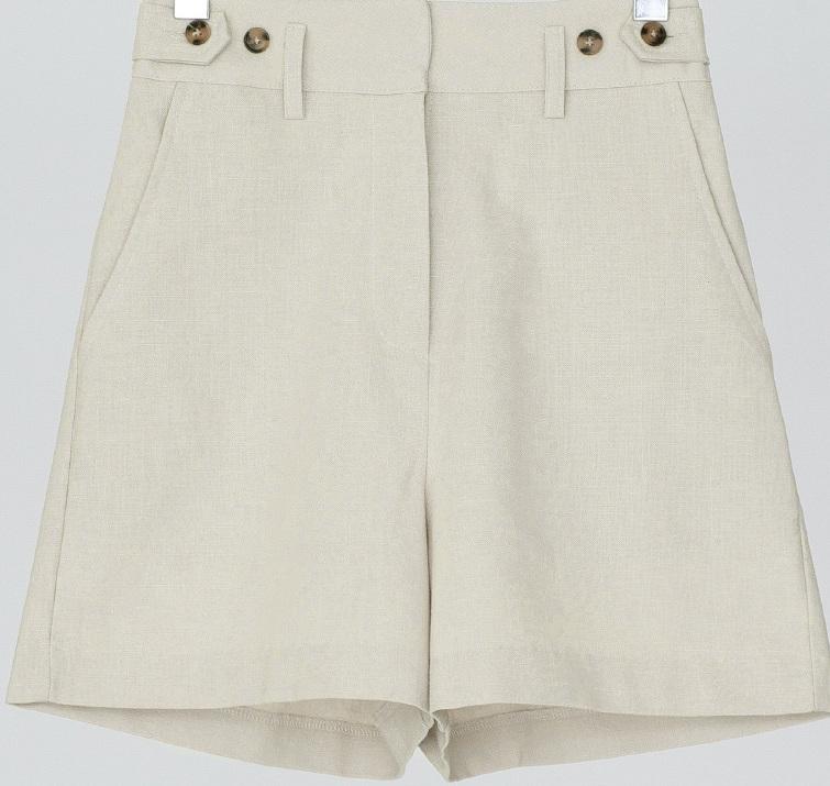 4-length unique cotton shorts