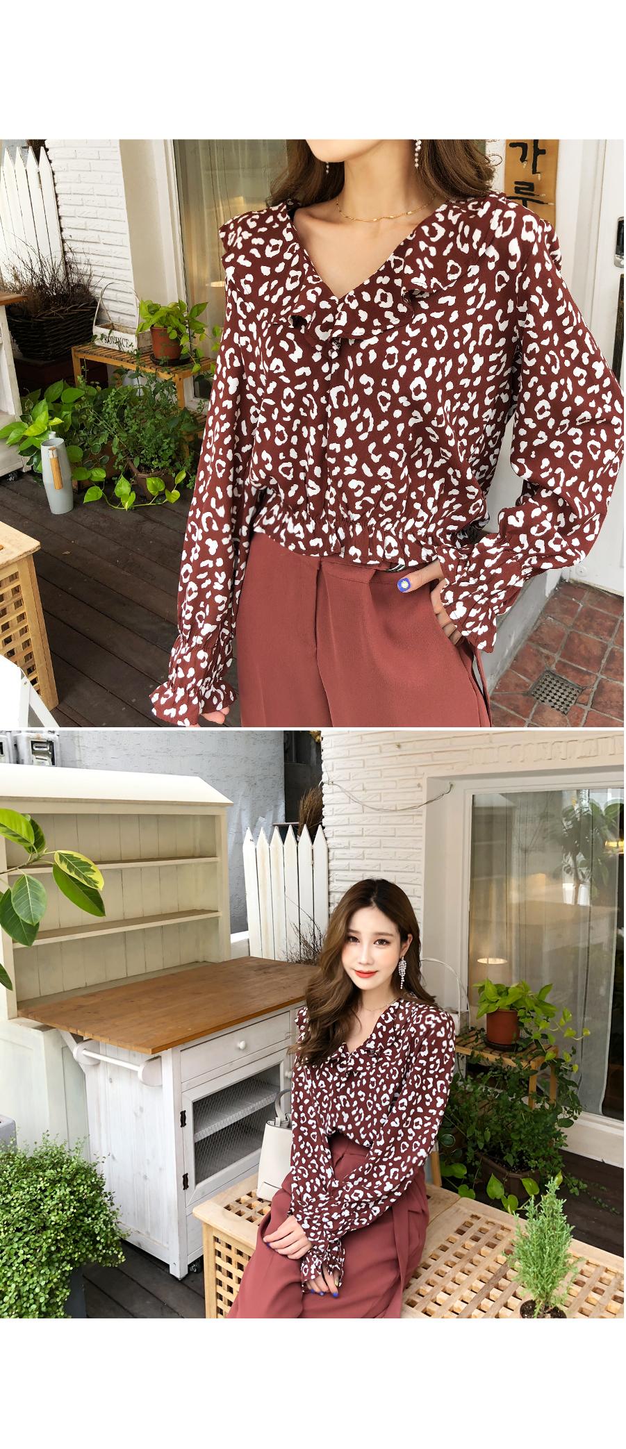 Brownie Hopi blouse