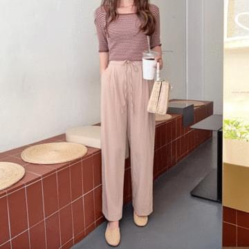 Concealed Cooling Wide Pants