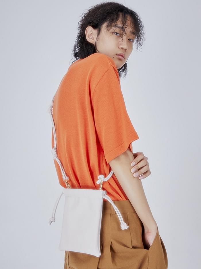 SALE twist strap mini bag (yellow)