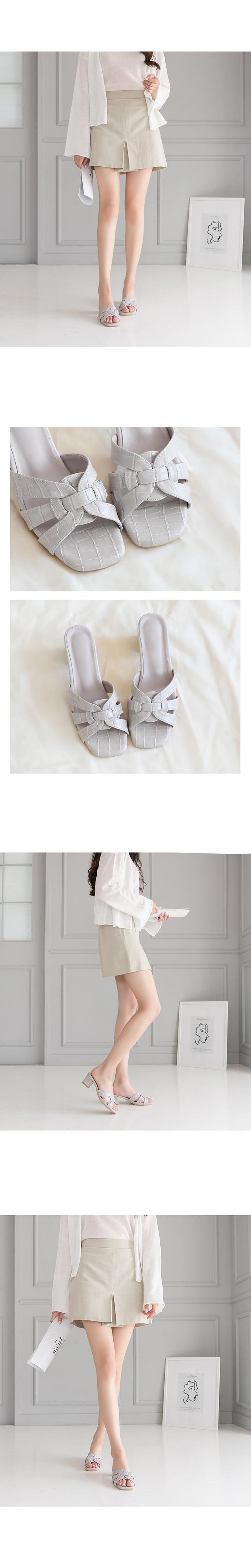 ReMus Mule Slippers 5cm