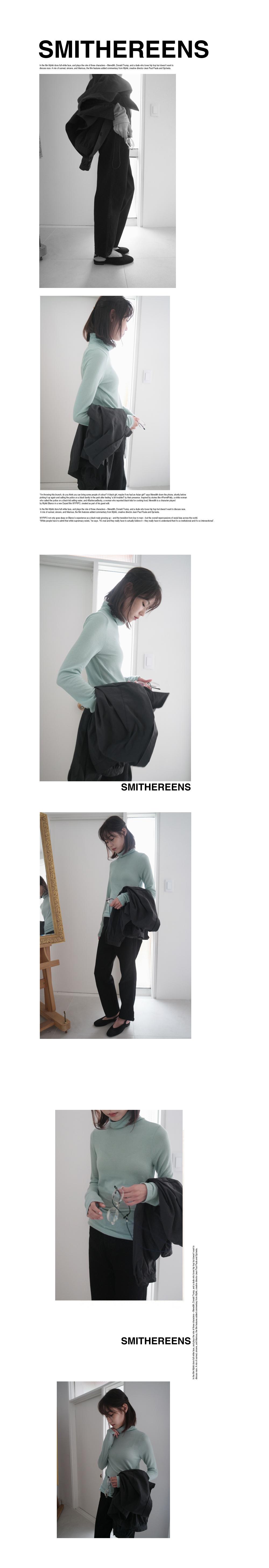 slim straight black cotton pants