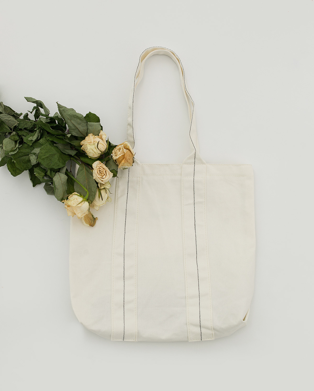 simple mood cotton bag