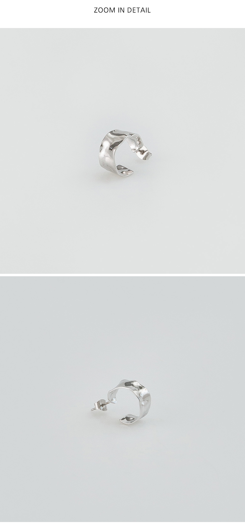 wave widely earring