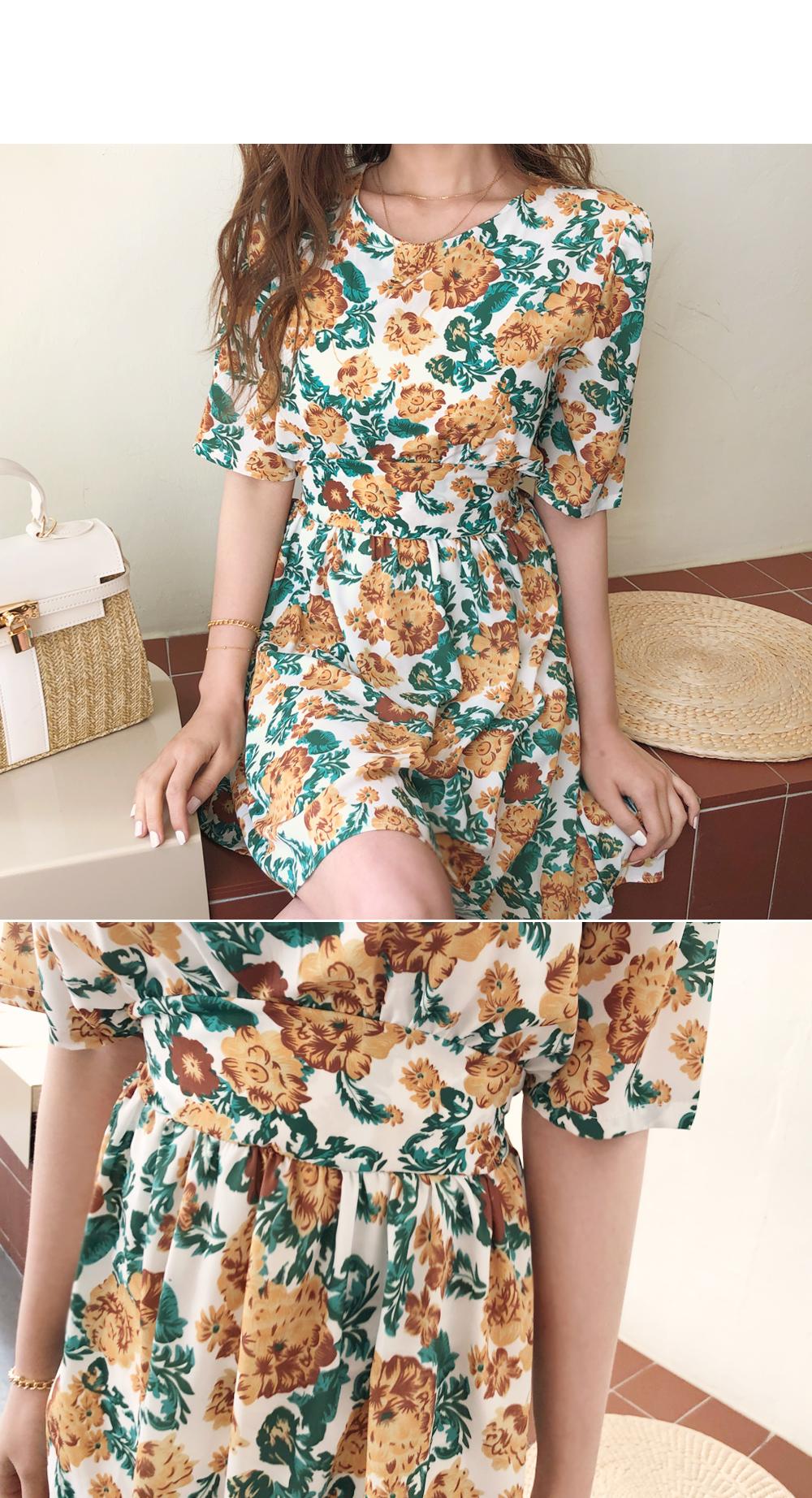 Spring Flower Dress