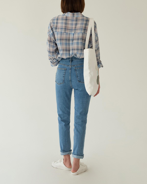 vintage blue denim pants