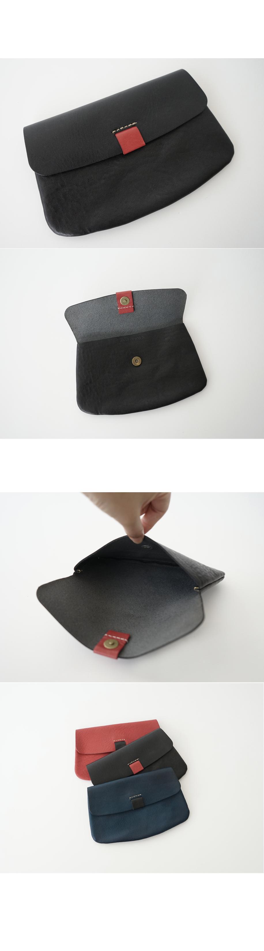 button pouch (3colors)