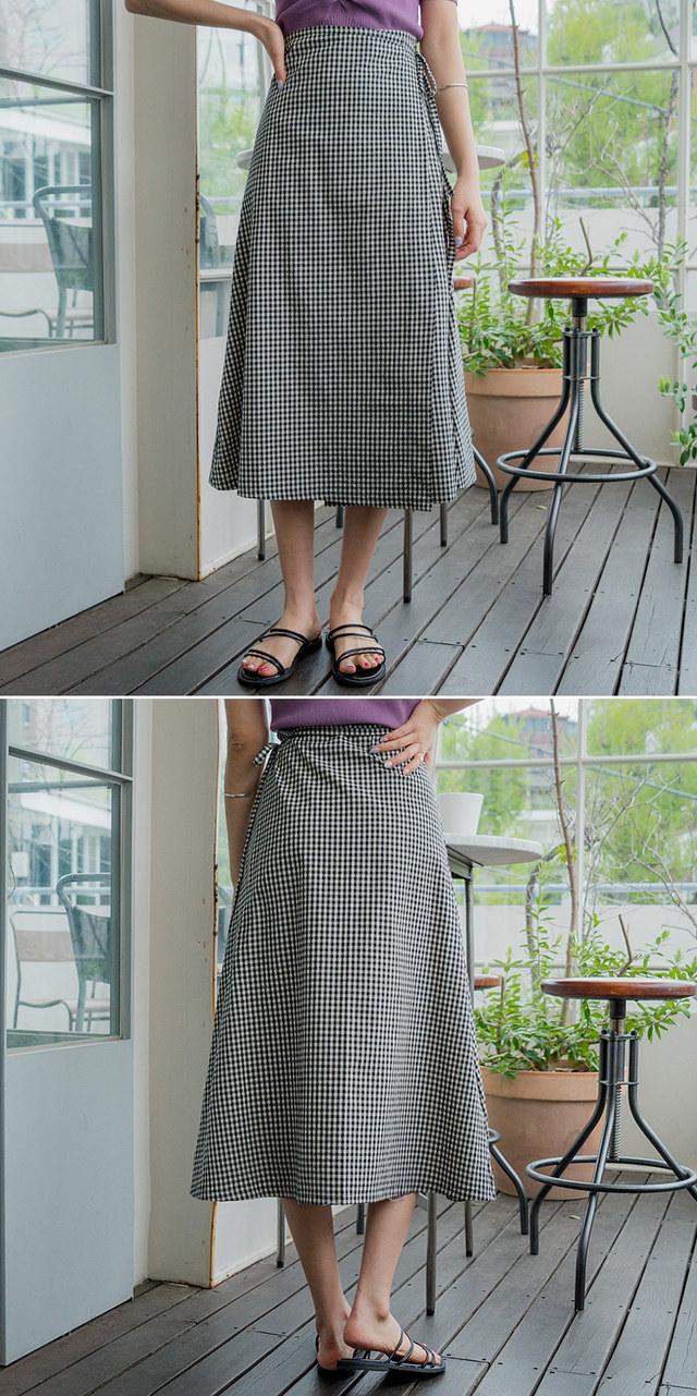 Jamie wrap skirt