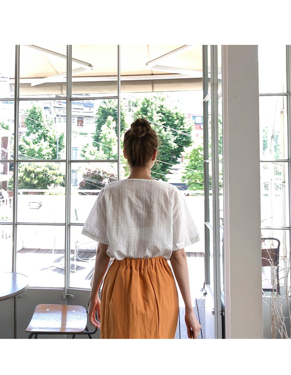 Line Good linen skirt