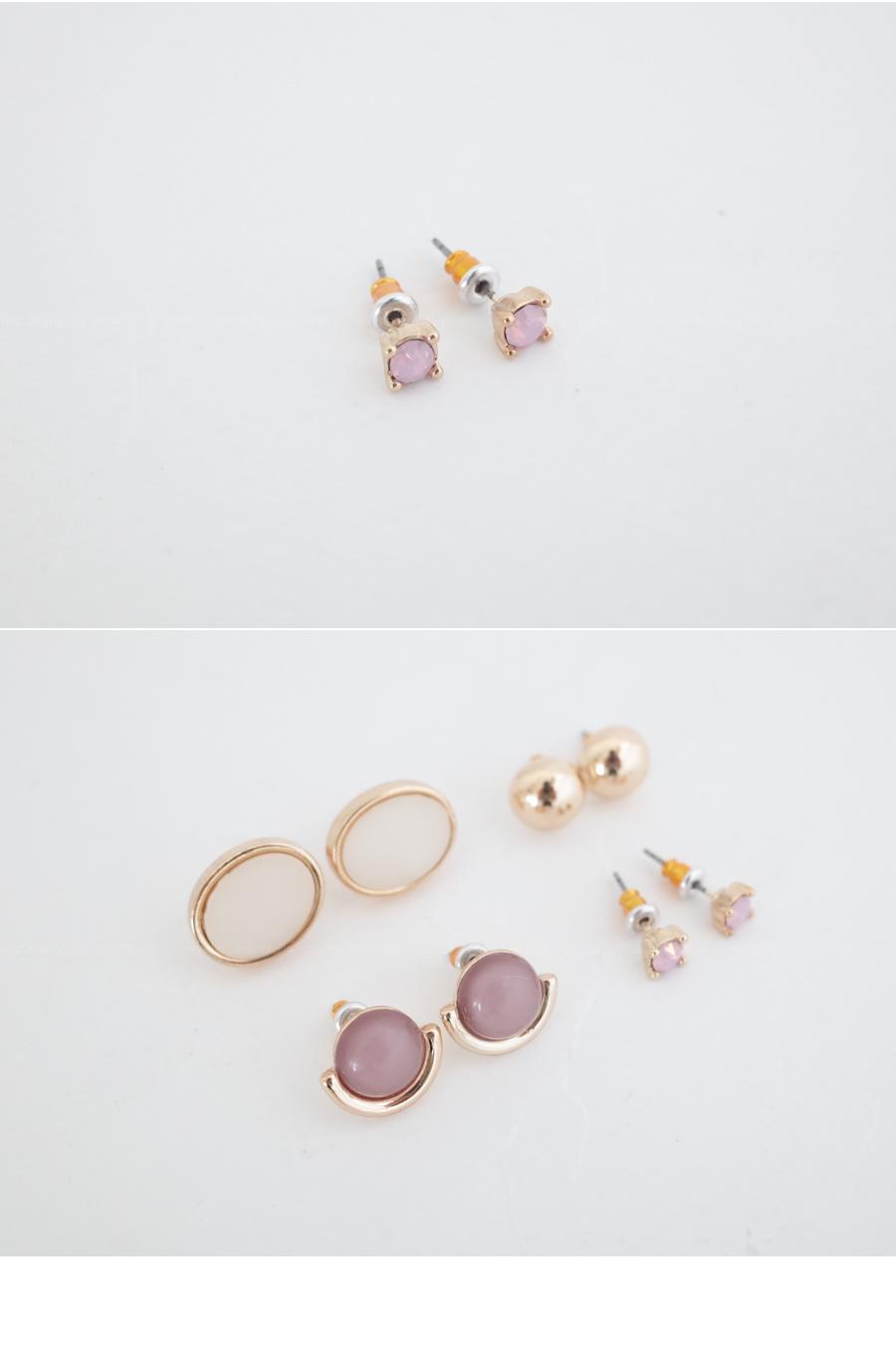 Pretty set total set earrings SET