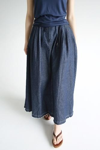 stich long vintage skirts