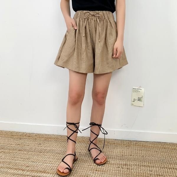 Linen Basic Short P
