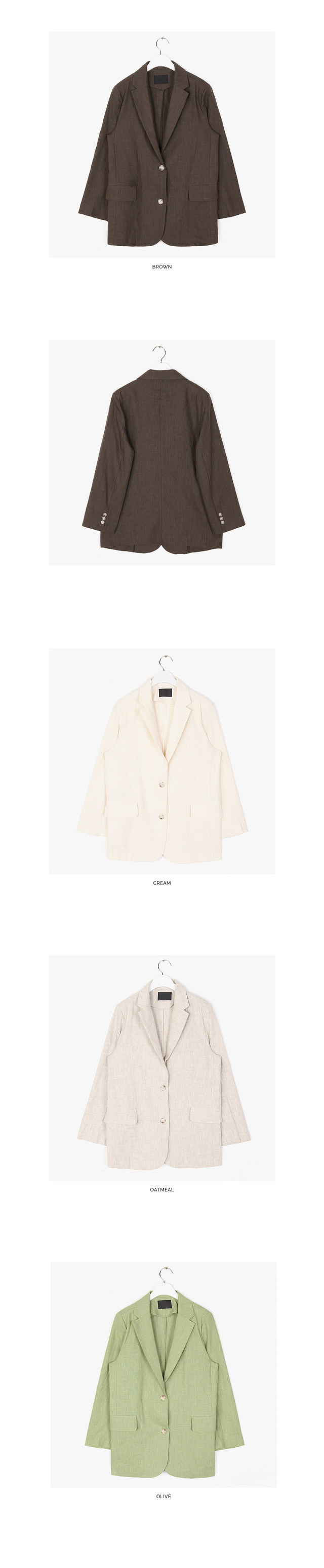 all day linen jacket