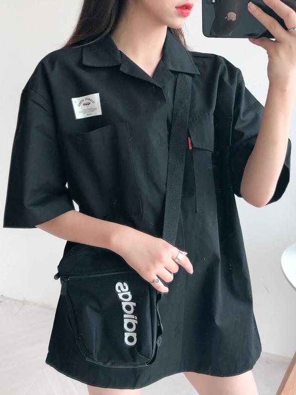 Work Pocket Short Sleeve Shirt