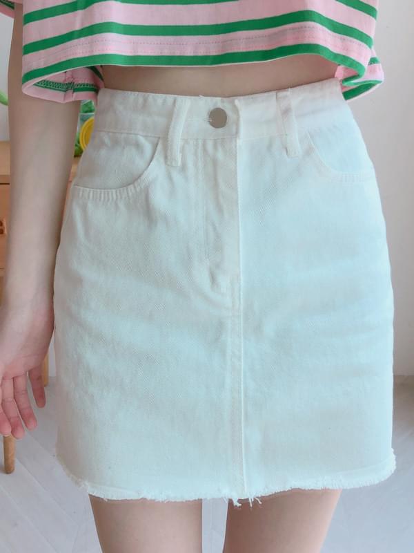 Cutting Cotton Skirt