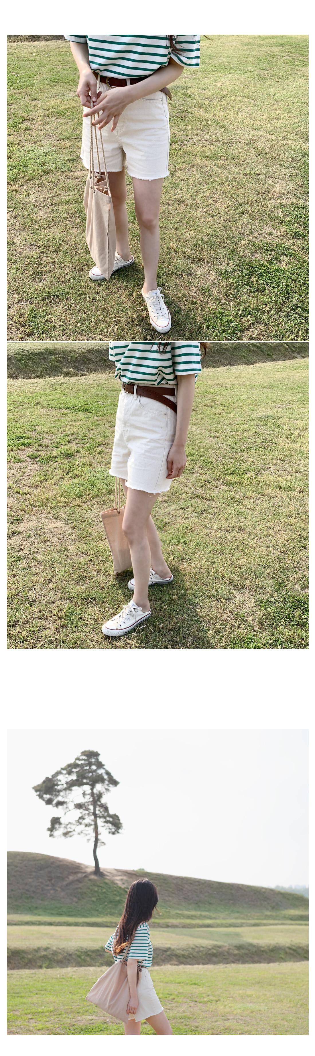 High cotton shorts