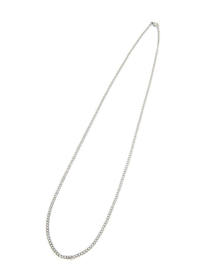 thin chain long necklace