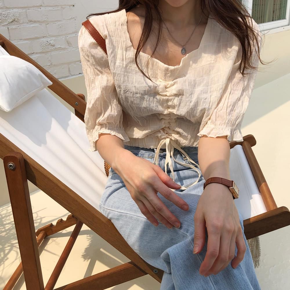 Brown sugar clove blouse