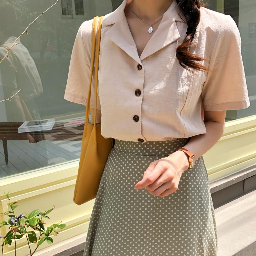 Hand Linen Shirt