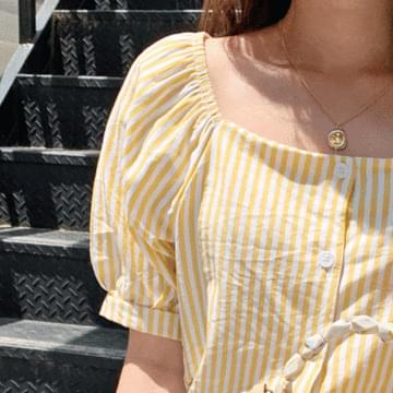 Heinlein striped blouse