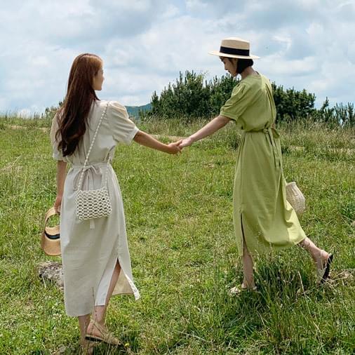 Linen Heavy Long Dress