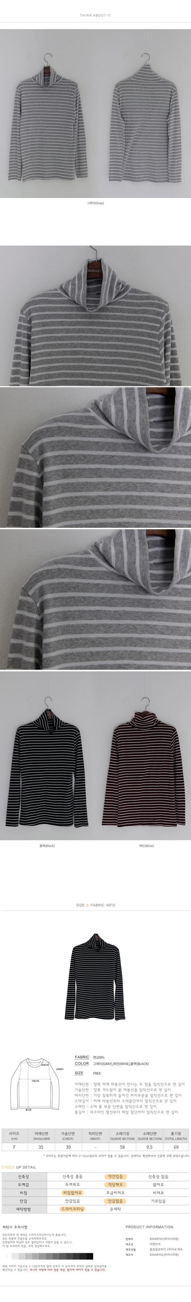 Stripe Chelsea Polar T-shirt