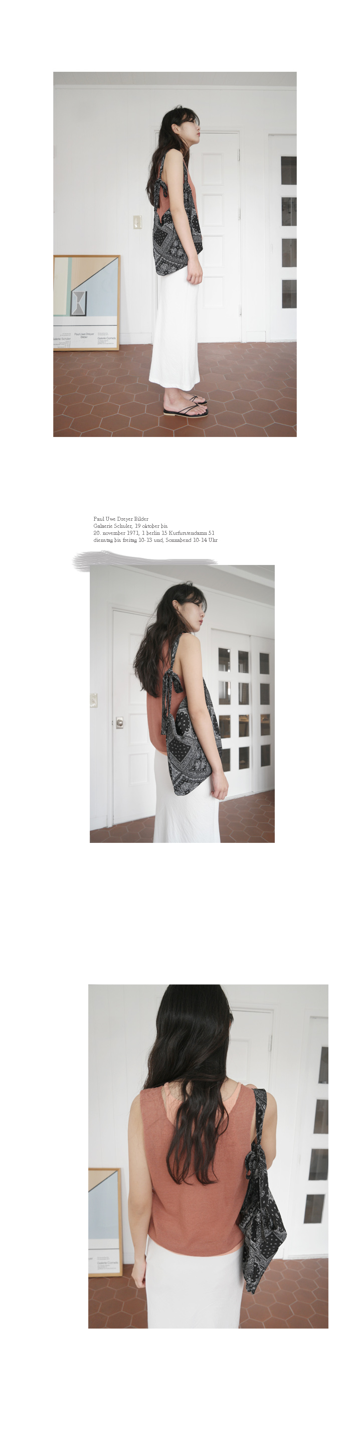 paisley basic shoulder bag