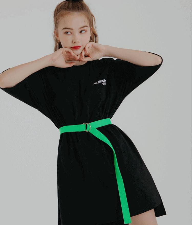 Outstanding Belt Dress