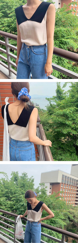 Check cotton hair-string_Y