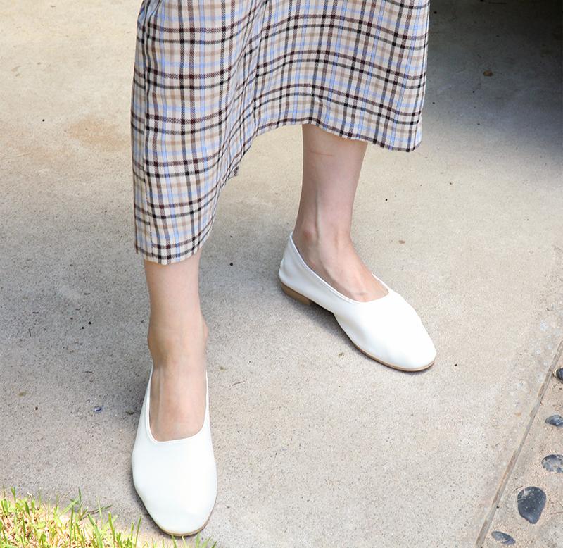 Yogurt soft flat shoes_A