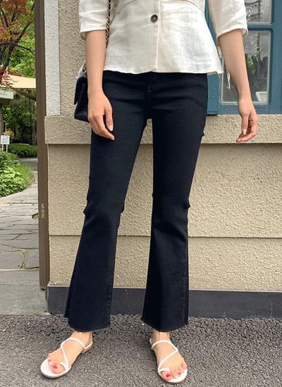 Baki Flared cotton pants