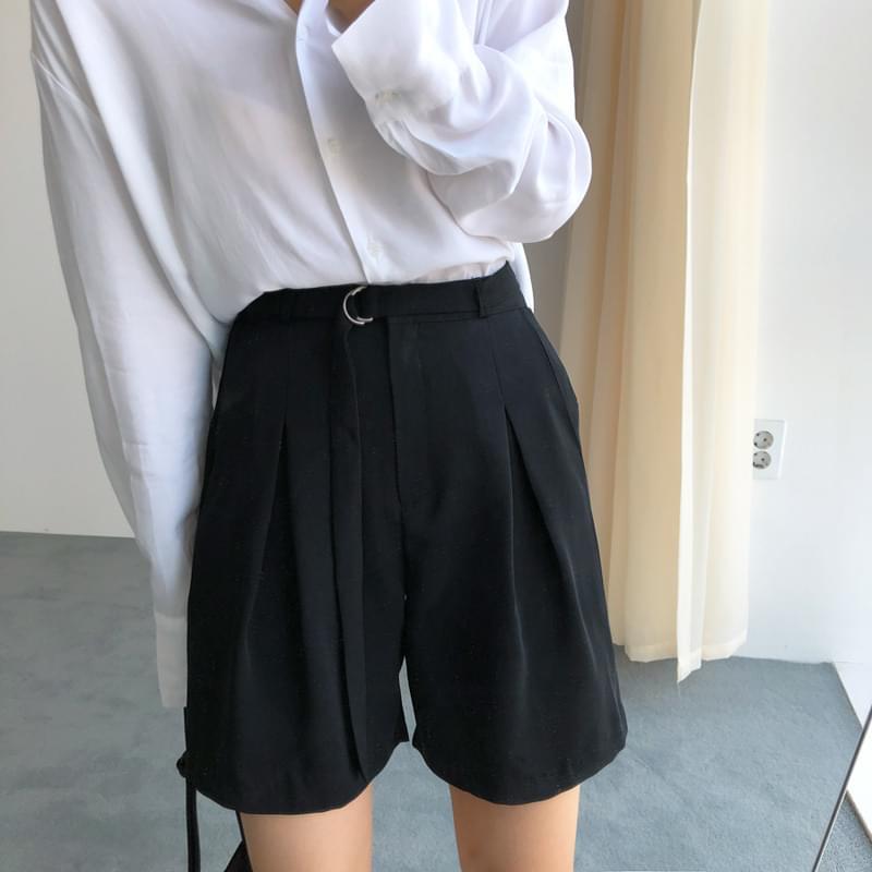 Pintuck Level pants black m