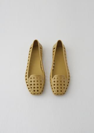 punching jelly flat loafer