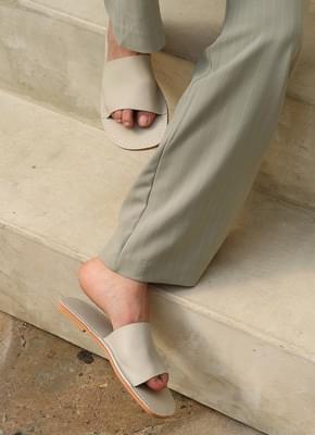 Jerome stitch slippers