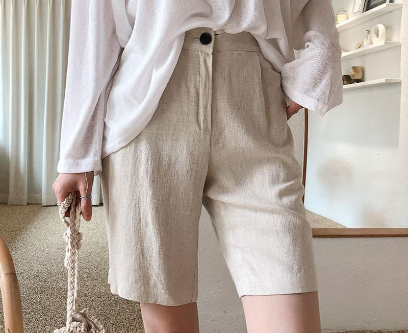 Comfort loose pants linen pants