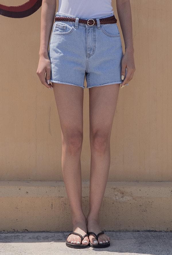 Denim Cutting Shorts