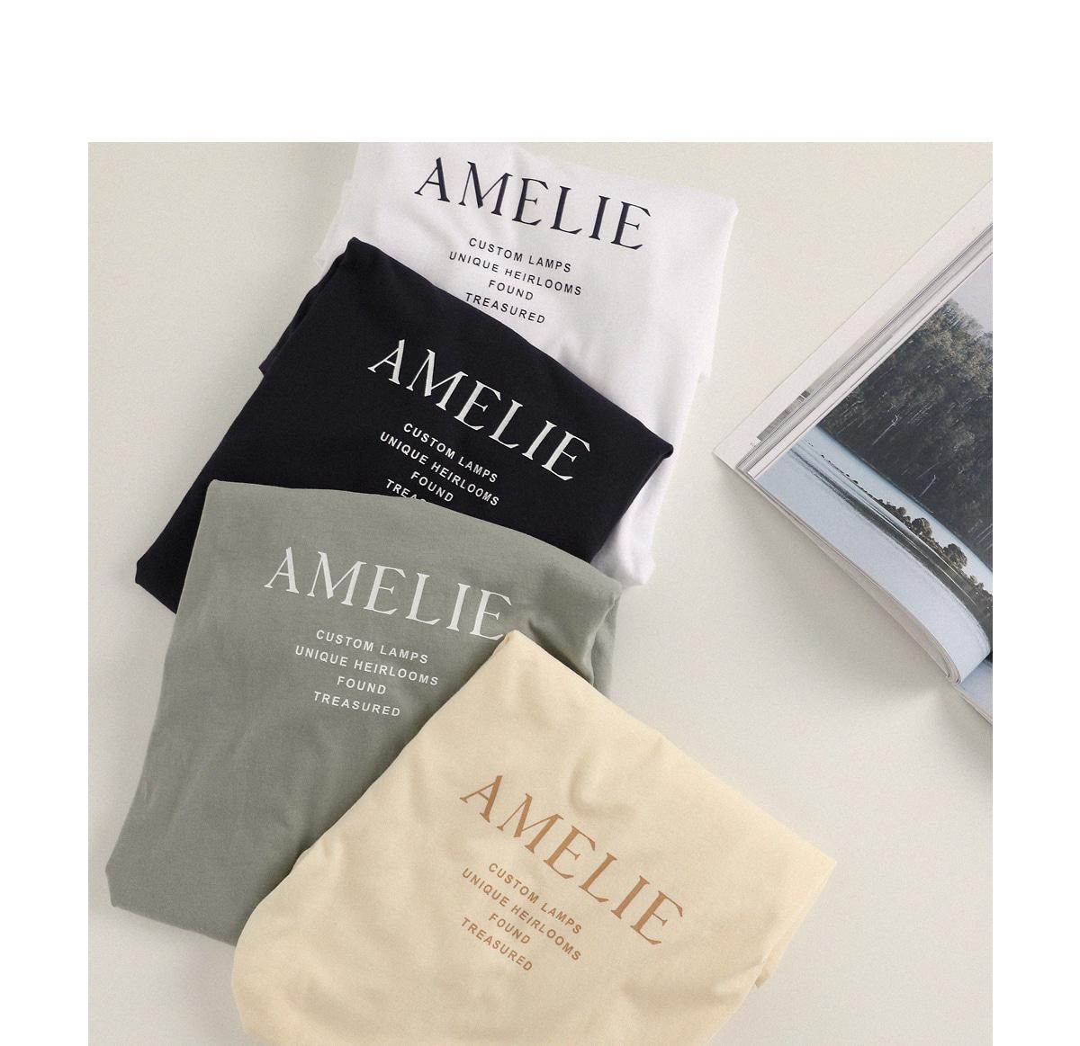 Amel round tee