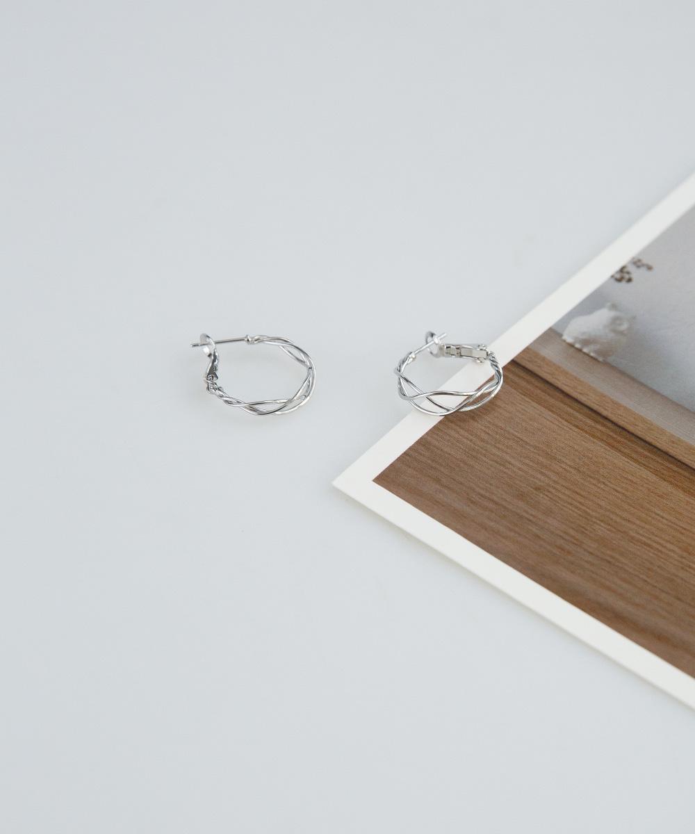 trendy easy ring earring