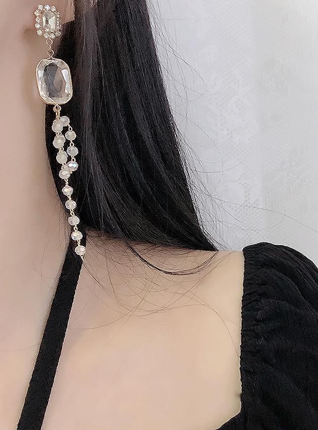 Jujuma Pearl Bold Earrings
